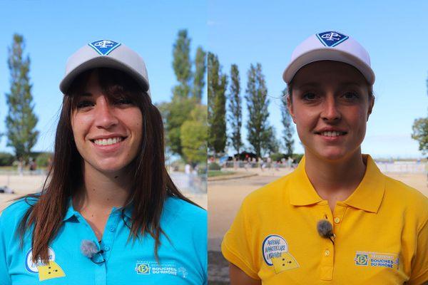 La finale du trophée Derichebourg a opposé la triplette Bernard en bleu à la triplette Bourriaud en Jaune dans ce Mondial La Marseillaise à pétanque 2020.