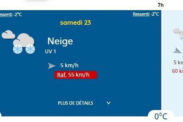 Météo France prévoit de nouvelles chutes de neige pour ce samedi à Gourette et sur les pyrénées béarnaises.