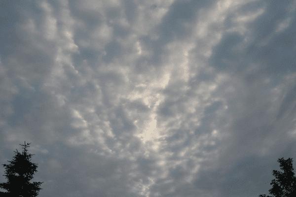 Le ciel du Nord samedi 18 juillet 6h45
