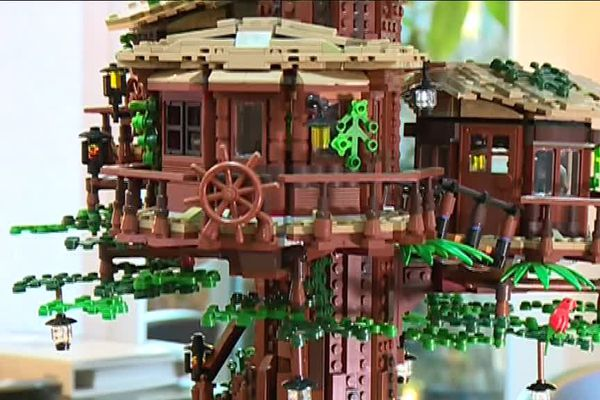 """Le projet """"L'arbre à cabanes"""" du Nancéien Kevin Feeser a été retenu pour être commercialisé dans le monde entier."""