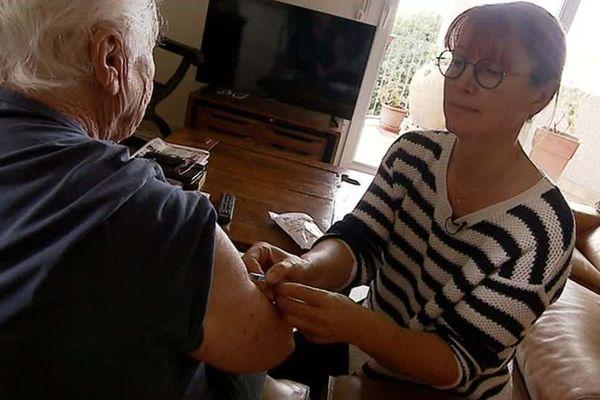 Les infirmiers libéraux sont les premiers acteurs de la vaccination contre la grippe