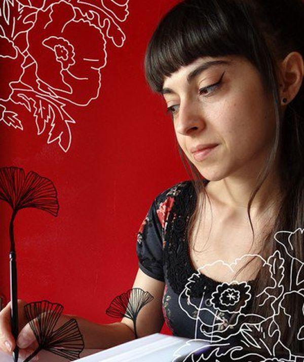 L'illustratrice Audrey Calleja