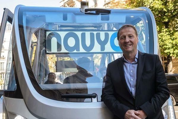 Lyon : Christophe Sapet, fondateur de Navya (archives)