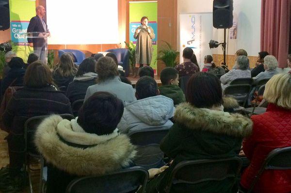 Une cinquantaine de personnes, notamment des parents d'adolescents, ont assisté à cette conférence organisée le 5 février par l'espace jeunesse de Grand Quevilly.