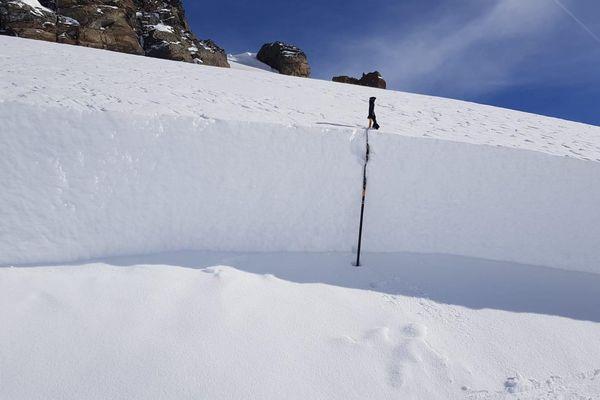 Une importante avalanche s'est déclenchée jeudi sur un secteur hors piste à Orelle, près de Val Thorens.