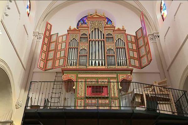 L'orgue de Grandvillars est installé depuis le 25 janvier dernier sur sa tribune, dans l'église de Grandvillars.