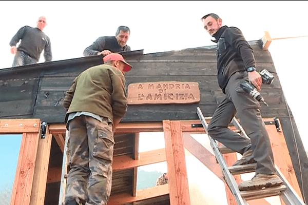 Incendie – La solidarité pour reconstruire une bergerie près de Cervione (Haute-Corse).