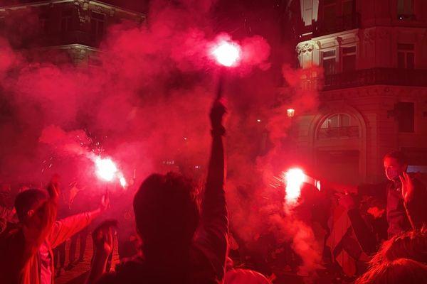La joie était intense dimanche 23 mai dans les rues de la métropole après le titre du Losc