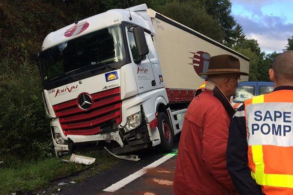 Accident mortel sur la RN 147 à hauteur de Conore