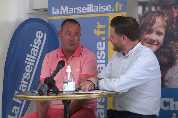 Jean-Michel Puccinelli est venu présenter la 60e édition du Mondial La Marseillaise à Pétanque lors de la traditionnelle conférence de presse au côté de Pierre Guille, son président.