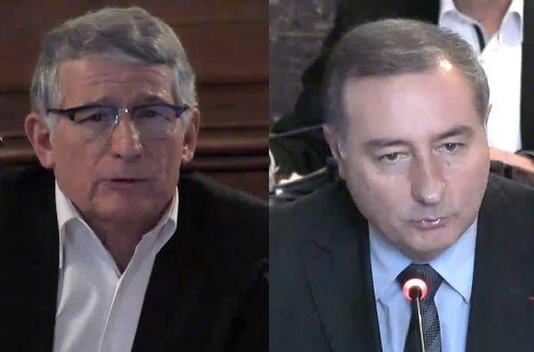 Les premières passes d'armes pour la mairie de Toulouse ont débuté entre Pierre Cohen, maire PS actuel et le député UMP Jean-Luc Moudenc