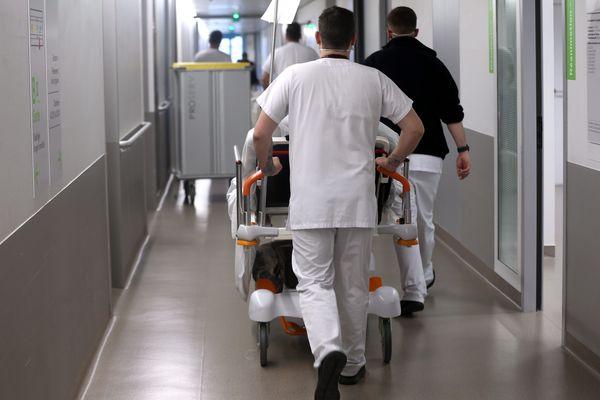 Le centre hospitalier du Nord Franche-Comté à  Trévenans près de Belfort accueille des malades infectés par le coronavirus covid-19.