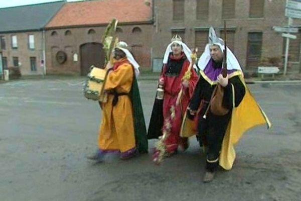 Les Rois mages dans les Flandres.