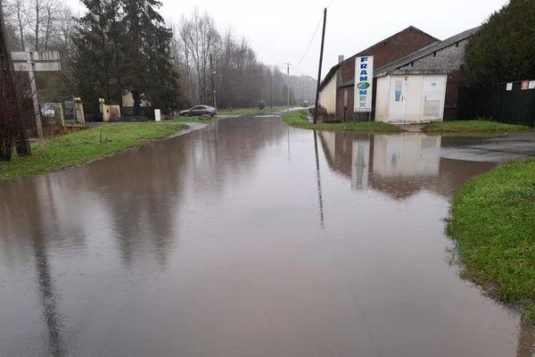La commune d'Appilly est inondée pour la troisième fois depuis décembre