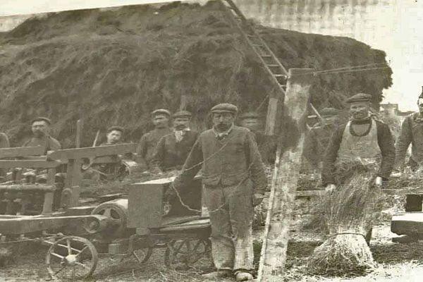 Les exilés belges ont été nombreux engagés dans des fermes du Pays de Caux