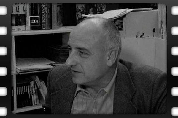 Bernard Clavel, écrivain, en dédicace