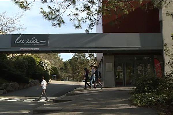 Le campus de Sophia fait cohabiter des formations, des start-ups et des organismes publics comme l'Inria