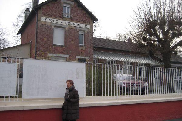 L'école de Clacy-et-Thierret où a vécu yannick Jadot