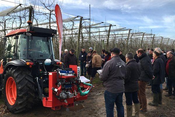 La Sarthe compte 50 arboriculteurs pour 1 000 hectares de culture.