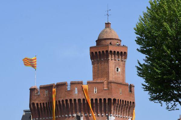 Le Castillet à Perpipgnan