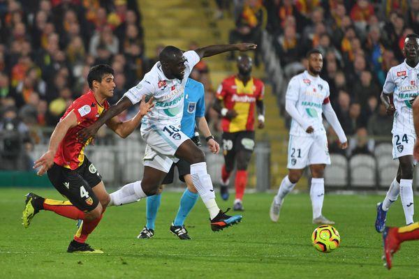 Le Havre AC contre le RC Lens en avril 2019.