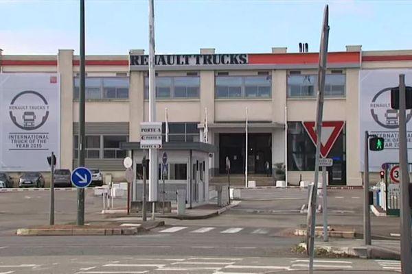 """A Vénissieux, le site de Renault Trucks, classé """"site amiante"""" en 2016. Après de nombreuses années de procédure, une partie des anciens salariés a obtenu une reconnaissance. Pour les autres, la bataille se poursuit"""
