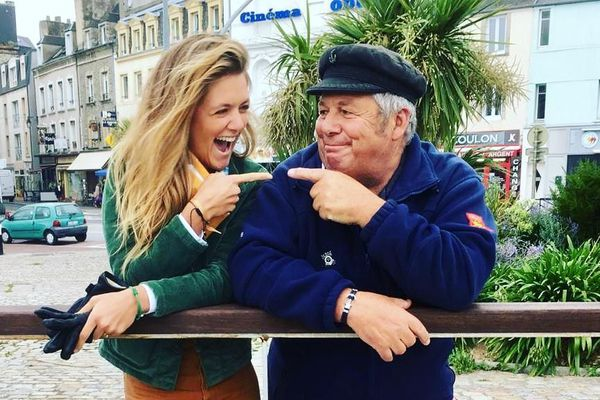 Marine découvre Cherbourg grâce à Gérard Bourdet