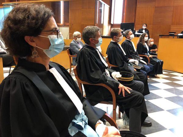 25.09.2020. Audience de rentrée du tribunal judiciaire de Bastia (Haute-Corse)
