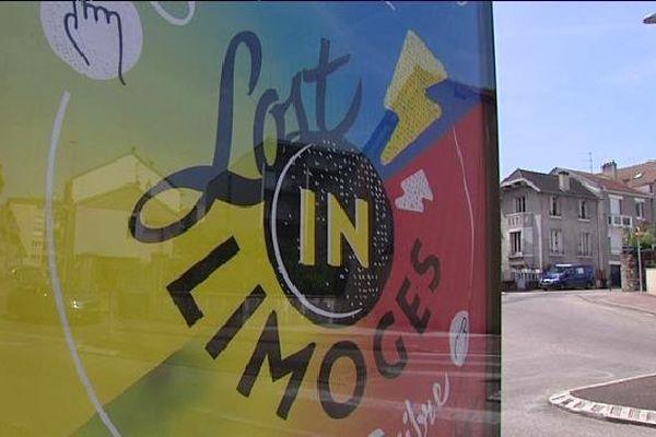 Une campagne d'affichage a été lancée le mois dernier à Limoges pour soutenir ce projet de festival