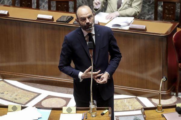Edouard Philippe à l'Assemblée Nationale, le 21 mars.
