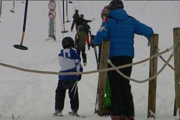 Les dernières neiges ont ravi les skieurs de cette fin d'année.