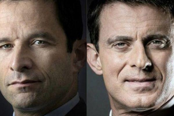 Avec 58,72% Benoît Hamon devance largement Manuel Valls au second tour de la primaire socialiste