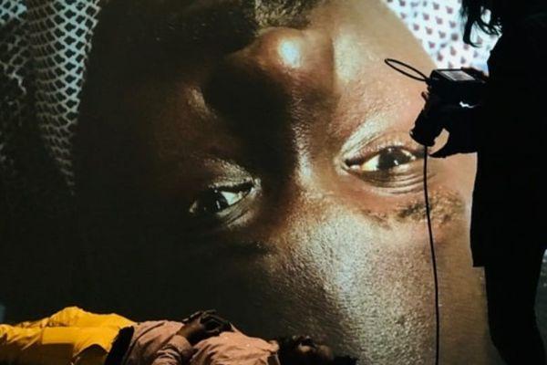 Kader Lassina Touré l'un des comédiens de La diagonale du vide, une pièce très attendue sur les Enfants de la Creuse.