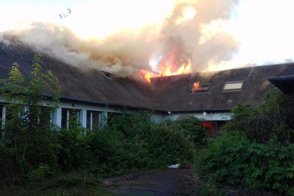 feu d'habitation Herouville Saint Clair