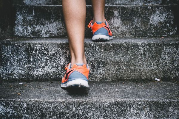 Illustration chaussures de sports, running