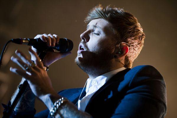 James Arthur en concert à Leeds en janvier 2014.