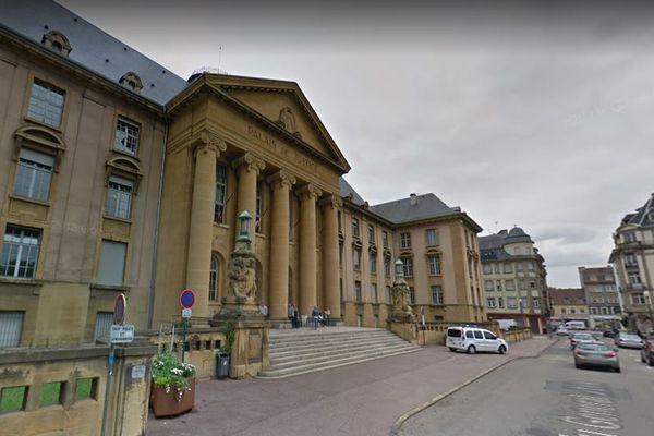 Le tribunal judiciaire de Sarreguemines (Moselle) (Archive juin 2018)