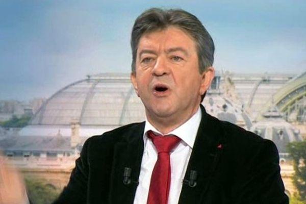 Jean-Luc Mélenchon sur France 3 Ile-de-France