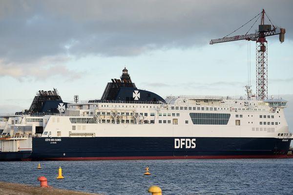 Les anciens navires de MyFerryLink désormais aux couleurs de DFDS.