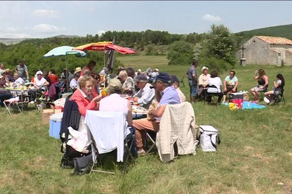 Les anciens habitants de Brovès se retrouvent une fois par an dans leur ancienne commune