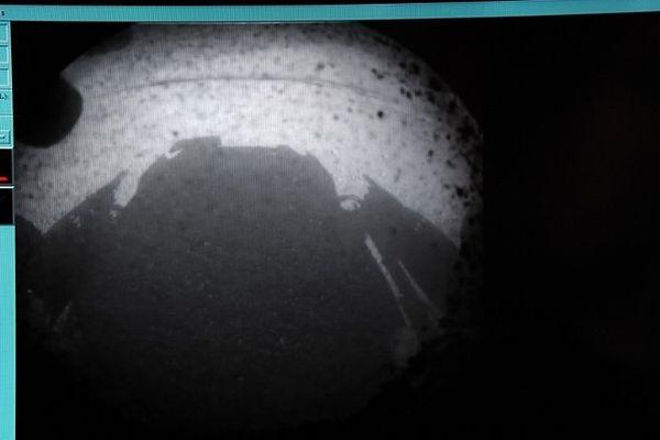 La première image envoyée par la NASA.