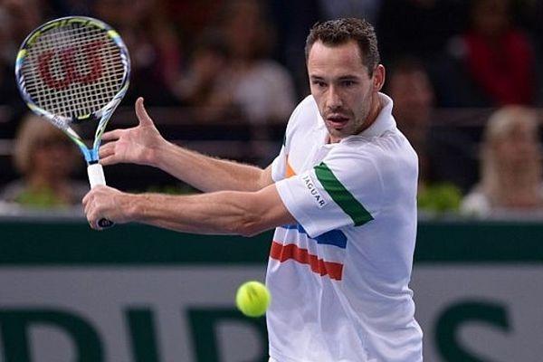 Michael Llodra, une des stars de ce 6ème Open de Caen (ici à l'Open de Bercy, novembre 2012)