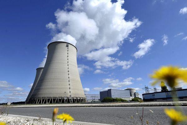 La centrale nucléaire de Belleville sur Loire dans le Cher (18)
