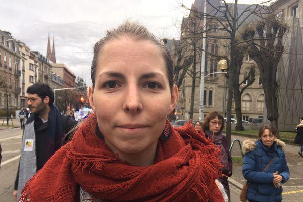 Orthophoniste, Marion Hautot craint pour l'avenir des libéraux.