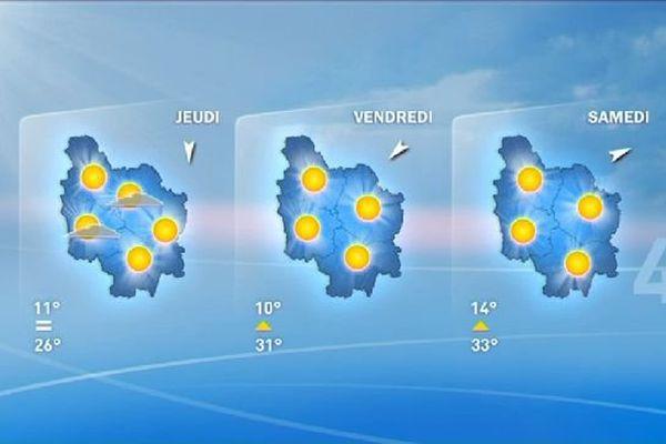 La vigilance canicule a été levée, mais les températures vont bientôt remonter, annonce Météo France.