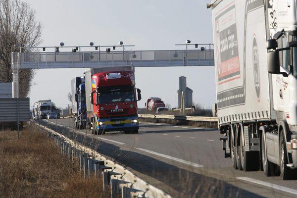 Illustration autoroute A4