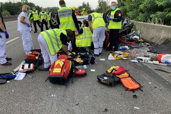 L'accident s'est produit en début de journée ce vendredi 30 juillet.