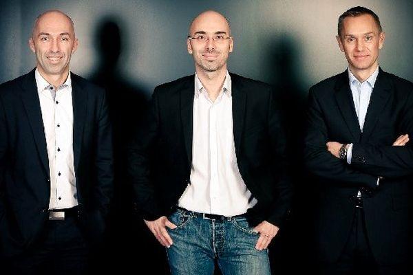 Charles Cabillic, Sébastien le Corfec, Ronan Le Moal les fondateurs de la West Web Valley