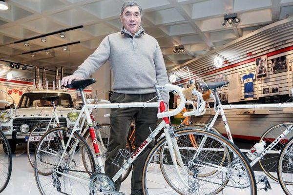 Eddy Merckx en 2014.