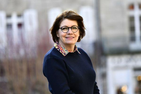 Agnès Le Brun, maire de Morlaix et vice présidente de l'AMF